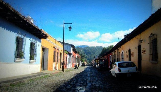 Antigua Guatemala cobblestones