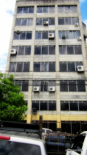 Immigration Building in Guatemala City
