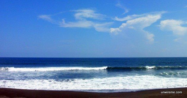 Paredon Beach is not treacherous like Monterrico's