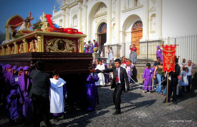 Children's procession, holy week photos Antigua Guatemala