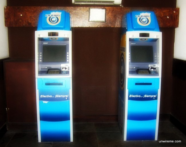 Banco Industrial ATM Guatemala