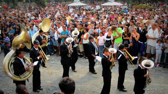 Funeral music - Antigua Guatemala