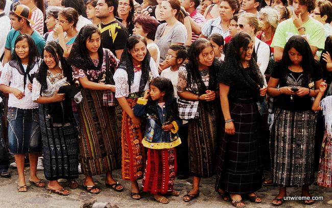 Mayan Mourners - Antigua Guatemala