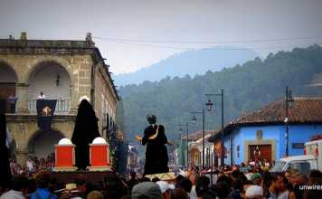 The Procession Marches On - Antigua Guatemala