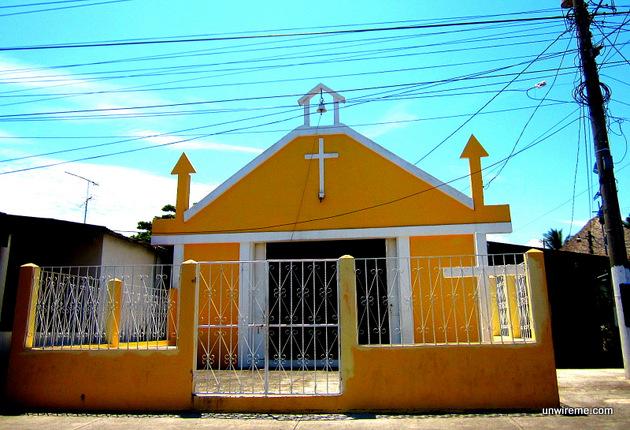 Small church, Puerto San José