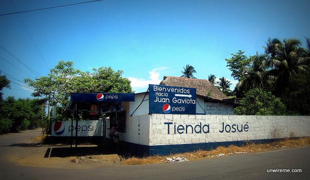 Juan Gaviota guatemala sign