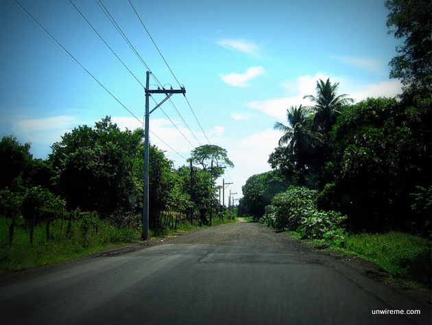 Road to El Paredón