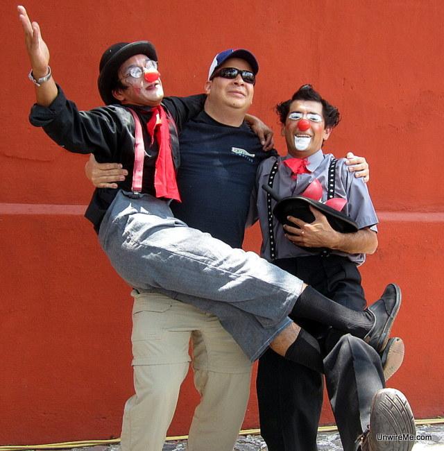 Clowning in Antigua Guatemala