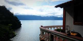 Hotel Casa Del Mundo Balcony - Jaibalito, Guatemala