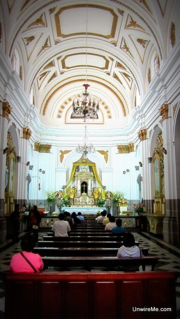Transept at Catedral Metropolitana, Guatemala City