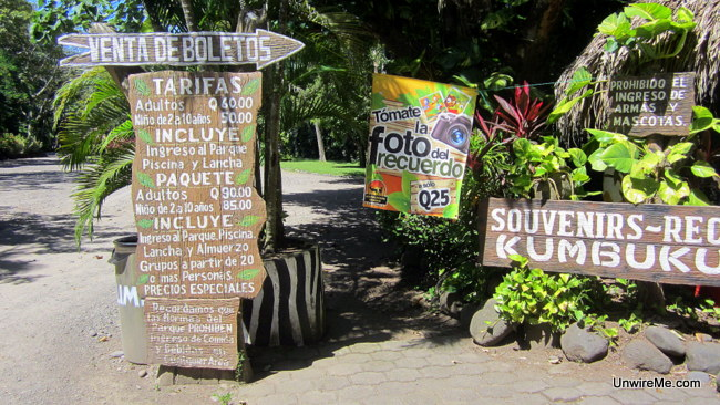 Prices at AutoSafari Chapin Guatemala