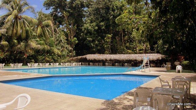 Pools at AutoSafari Chapin Guatemala