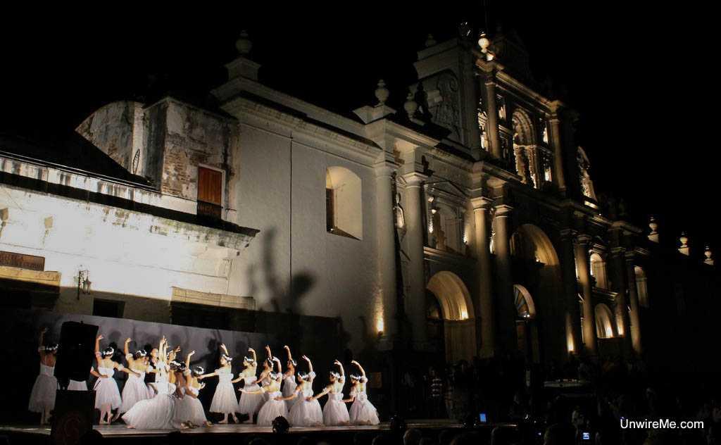 ballet dancers - Antigua Guatemala expat
