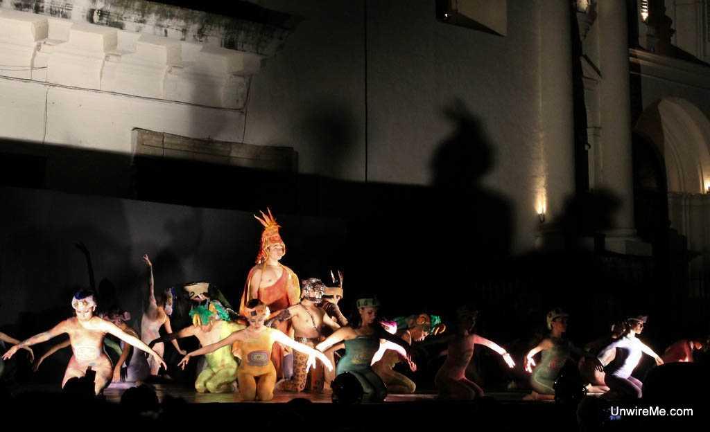 cultural show in Antigua Guatemala