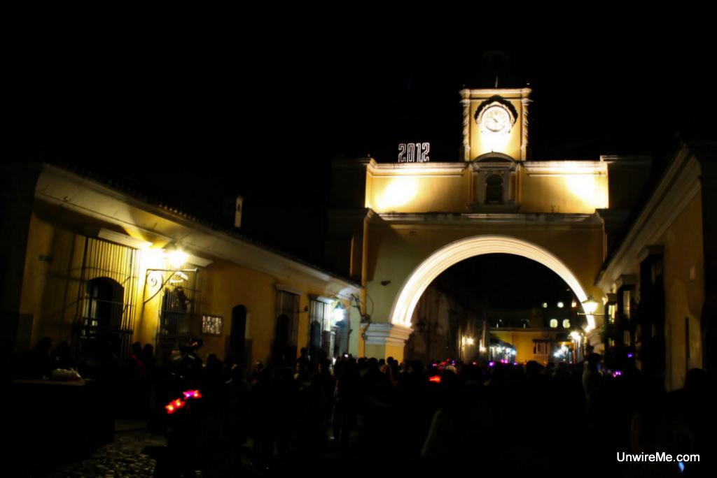 Arco Santa Catalina New Years Eve