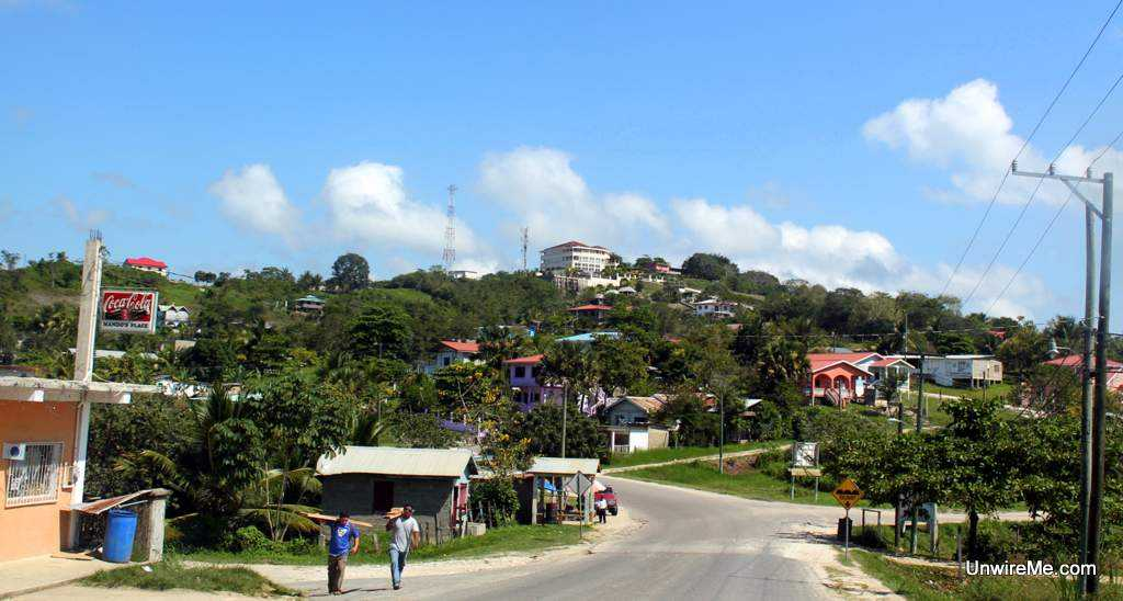 The town of Benque Belize