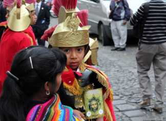 Children's Procession Antigua Guatemala