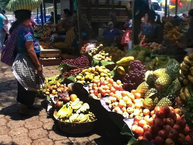 Fruits in Antigua Guatemala's Mercado