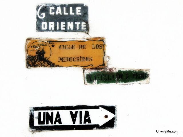 Antigua Guatemala Street Signs