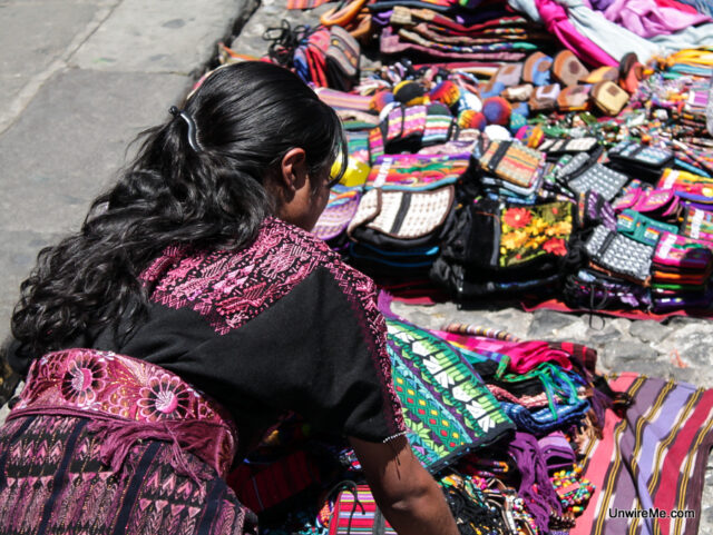 Mayan Handicrafts in Antigua Guatemala