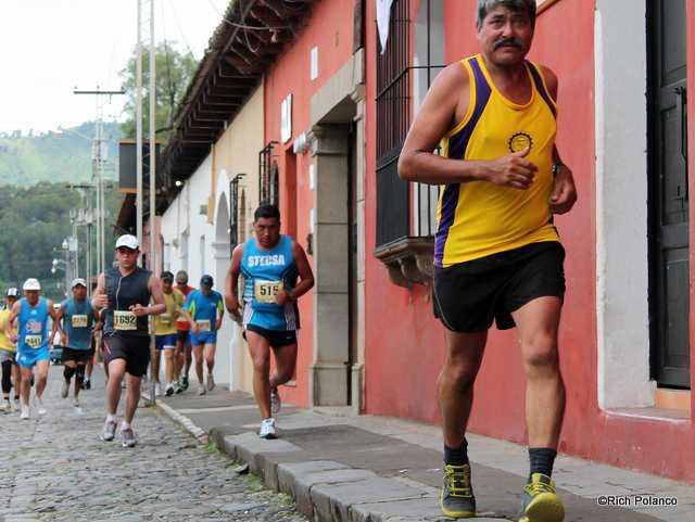 Las Rosas Half Marathon Antigua Guatemala