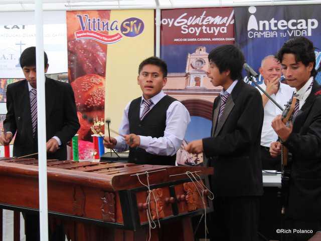 Marimba band Antigua Guatemala