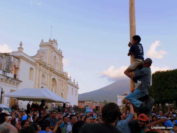 Antigua Greased Pole Festival