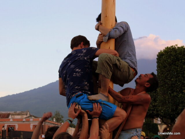Antigua Guatemala Greased Pole