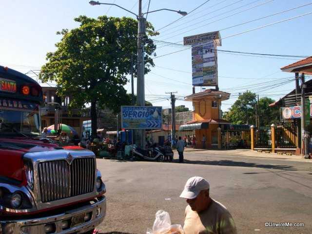 Escuintla bus stop