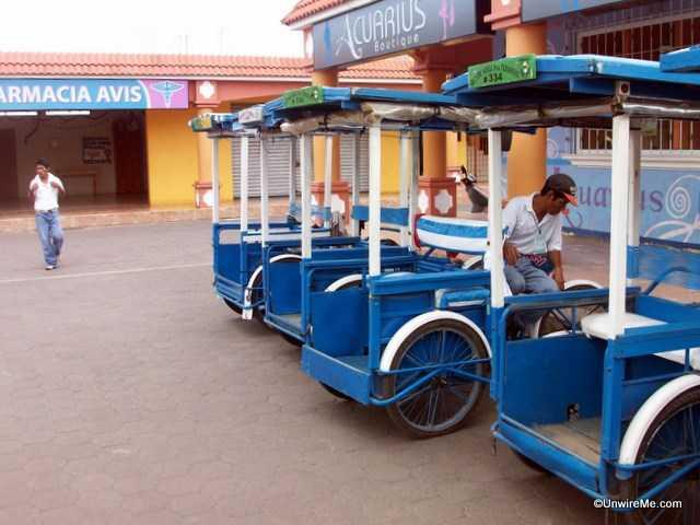 bici taxis in tecun uman guatemala