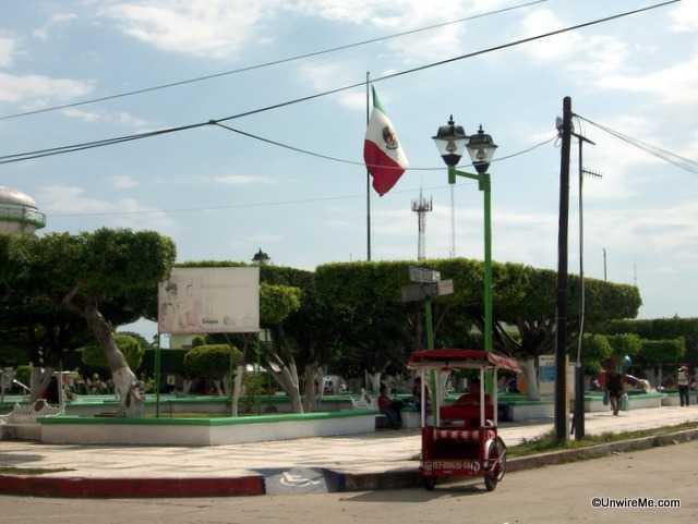 plaza ciudad hidalgo