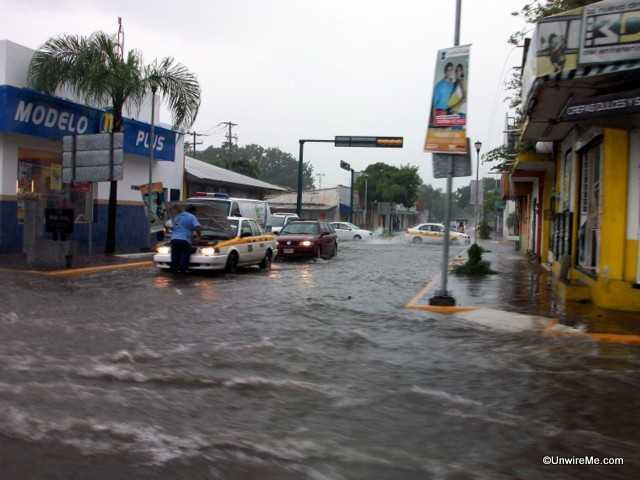 rainy season in Tapachula Mexico