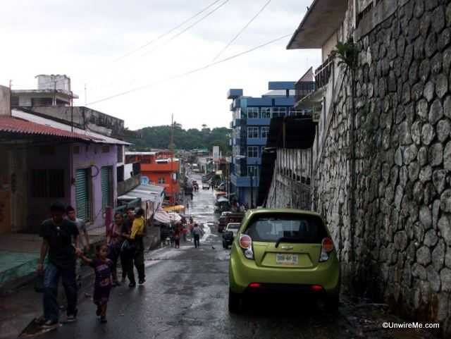 streets of Tapachula Mexico