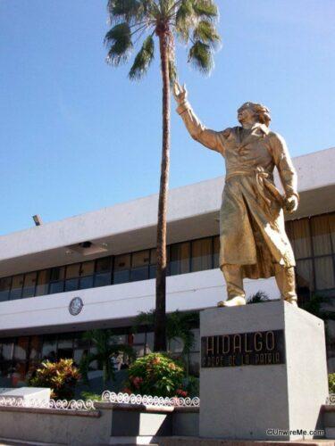Hidalgo statue, tapachula