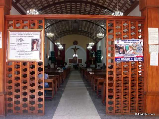 San Agustin cathedral interior tapachula mexico