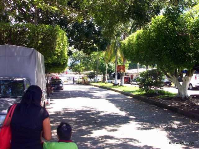 Road to Mexico - guatemala border