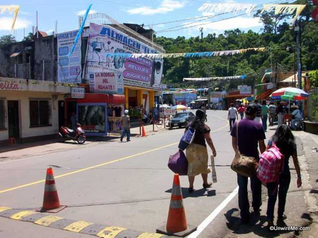 Guatemala border crossing
