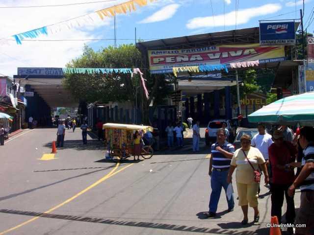 Malacatan border crossing