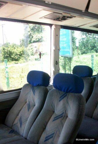 pullman bus seats in guatemala
