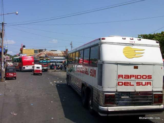 rapidos del sur guatemala bus