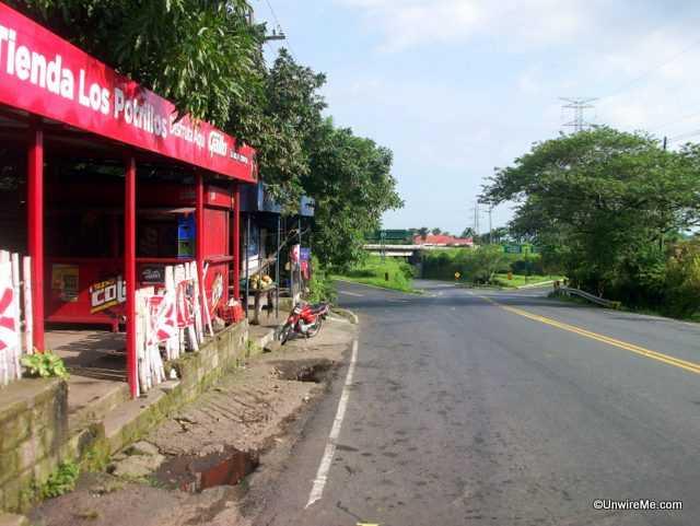 Antigua to escuintla junction