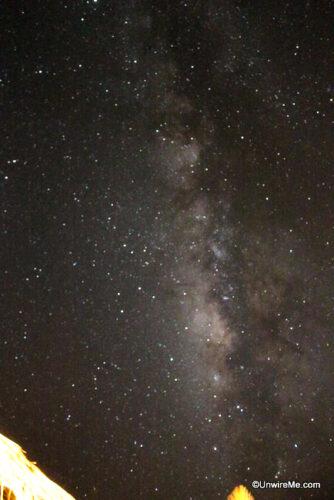 The Milky Way, El Paredon Beach