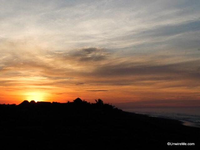 Sunrise at El Paredon Beach