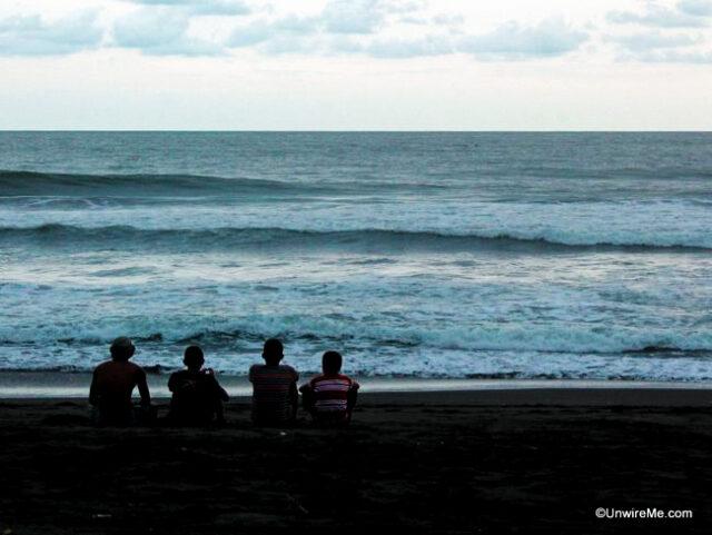 Taking a break from surfing