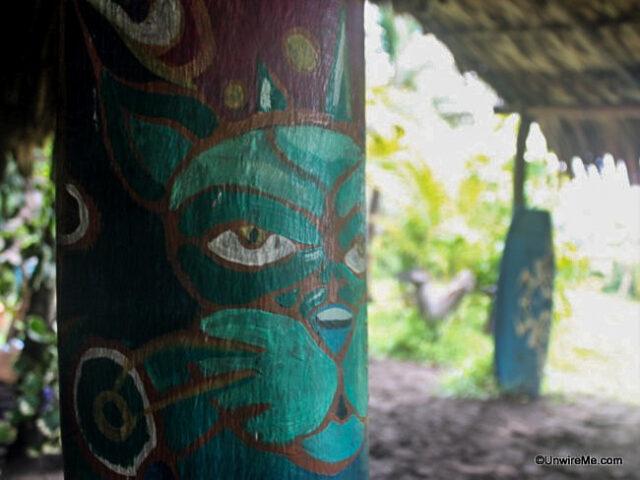 Decorative touches, Paredon Surf Camp