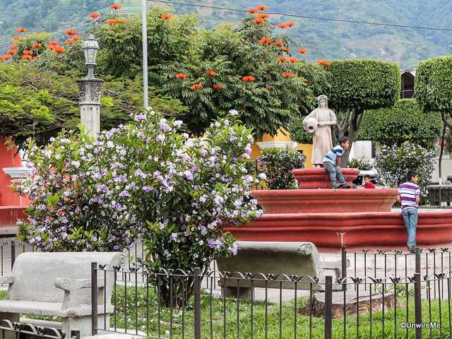 San Antonio Aguascalientes Fountain