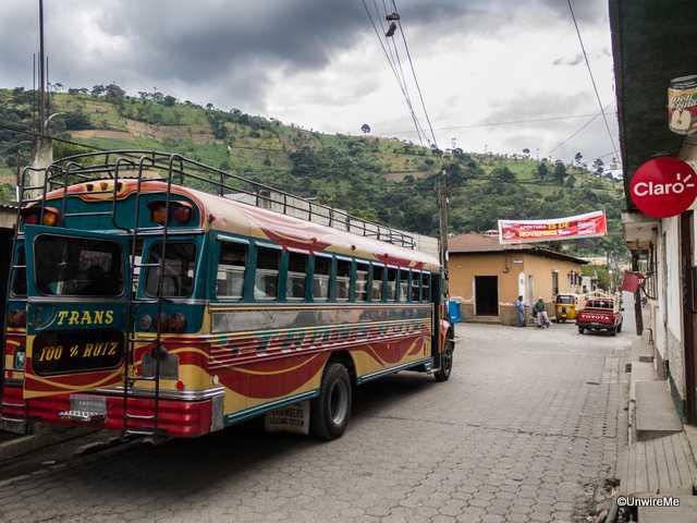San Antonio-Bound Chicken Bus
