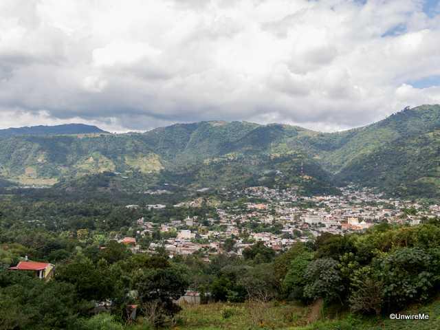 The town of San Antonio Aguascalientes