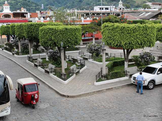 San Antonio Aguascalientes main plaza