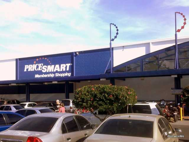 PriceSmart parking lot